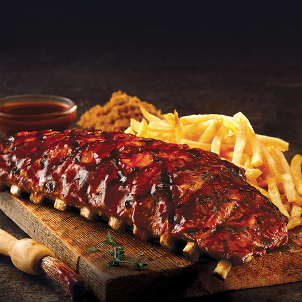 BBQ PORK BACK RIBS